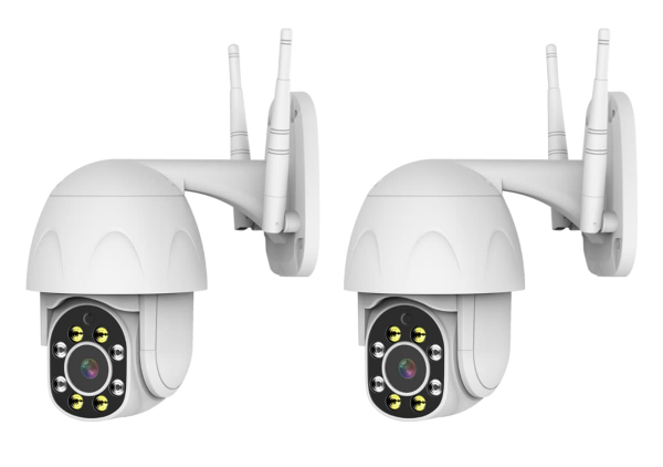 2 CAMERA SURVEILLANCE SYSTEM - PRO-SPEED