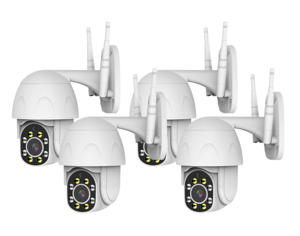 4 CAMERA SURVEILLANCE SYSTEM - PRO-SPEED